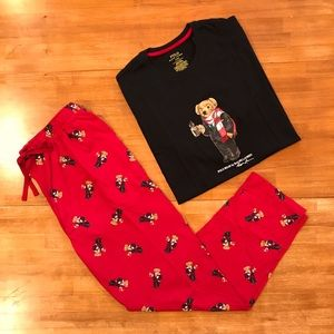 POLO RALPH LAUREN Cocoa Bear Pajamas